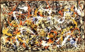 """""""Convergence"""", de Jackson Pollock, 1952"""